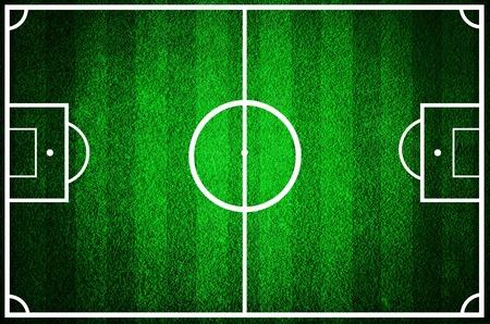 Grunge football field texture background photo
