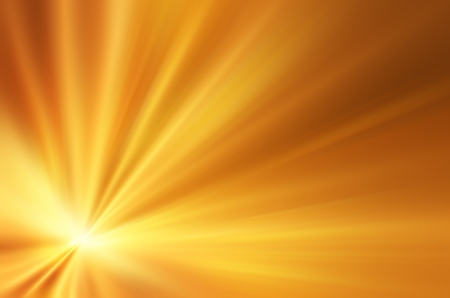 light beams: Illustration of a burning sun, or star and beautiful rays of light