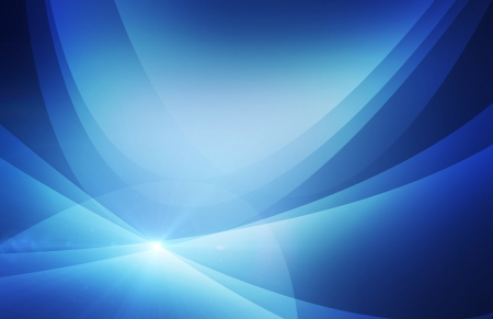 soft light: Blue abstract background