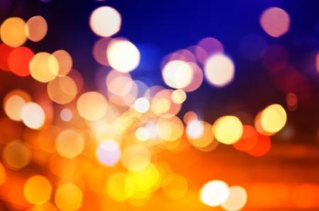 diffusion: Astratto sfondo circolare bokeh di Christmaslight