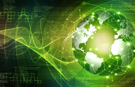 Green Earth technologie Achtergrond