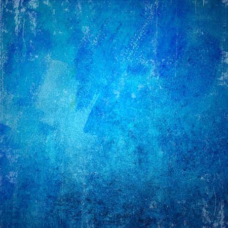 grunge background: Blue grunge texture Stock Photo