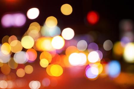 night club: Astratto sfondo circolare bokeh di Christmaslight