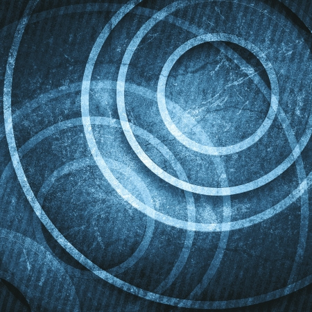 back to the future: Grunge circles background