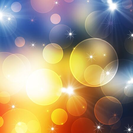 place to shine: Abstract colorful background