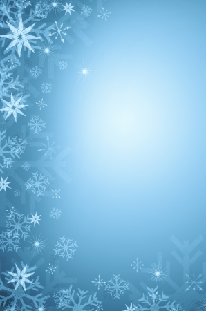 holiday background: Winter background