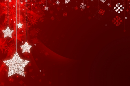 natale: red christmas new year background Stock Photo