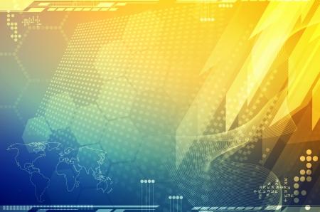 fondo tecnologia: Fondo de tecnolog?a abstracto