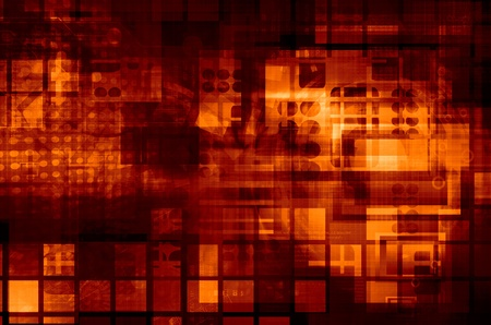 Virtual Technology  Background photo