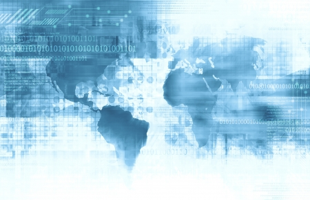 venture: Business and Technology background Stock Photo