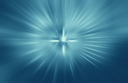 abstract zoom blue background photo
