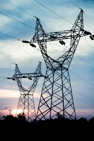 pylon: Electricity pylon