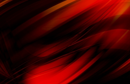 reflective background: abstract background - red wave