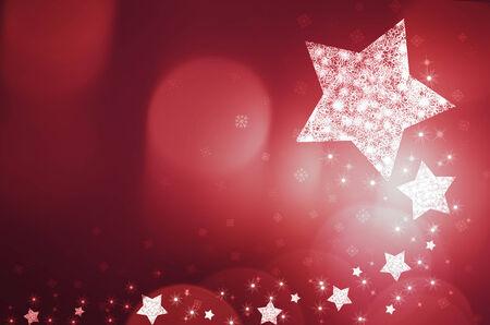 weihnachten: red christmas new year background Stock Photo