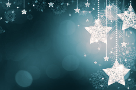 inviting: Festive Christmas background with stars