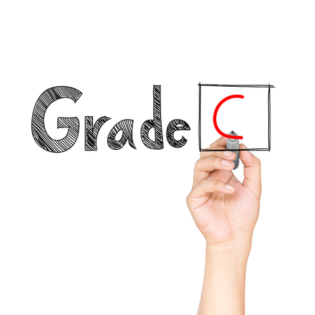 Hand drawn Education rating photo