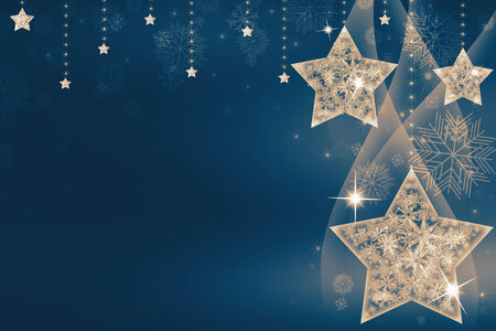 inviting: Festive Christmas with stars