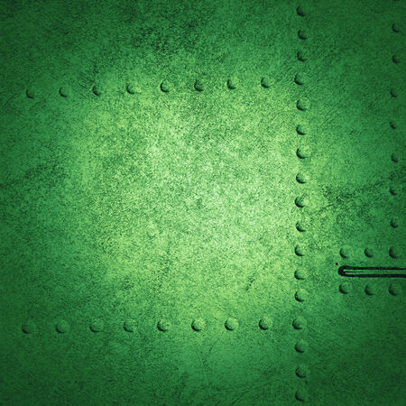 abstract green background, grunge metal photo