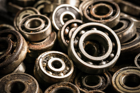 old rusty ball bearing Imagens