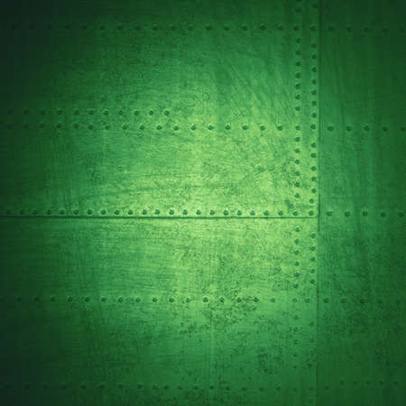 irish christmas: abstract green background, grunge metal Stock Photo