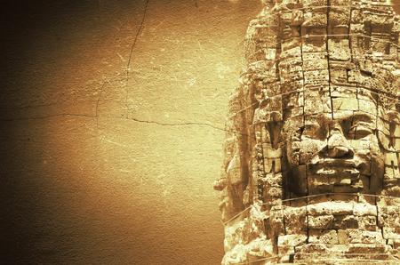 murals: Stone murals and sculptures in Angkor wat Editorial