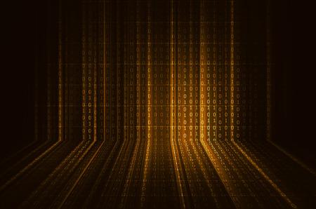 digital code: binary code Stock Photo
