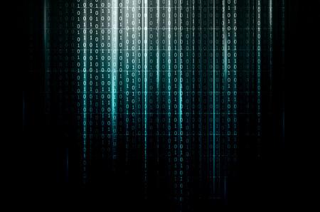 codigo binario: código binario Foto de archivo