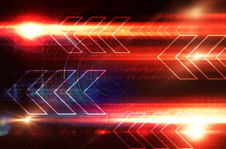 high speed internet: Abstract Arrows Stock Photo