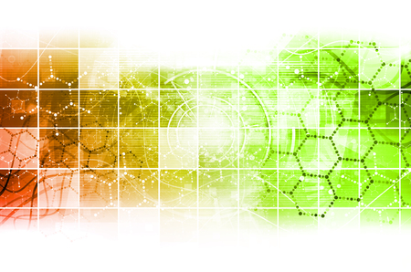Science Research als Konzept für Präsentation Standard-Bild - 34802988