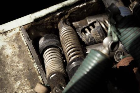 absorber: car shock absorber Stock Photo