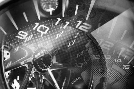 Racing Background Reklamní fotografie