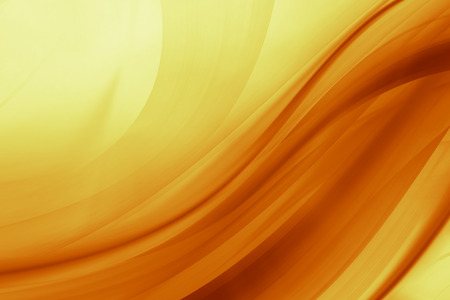 background orange: Orange and yellow background of abstract warm curves Stock Photo