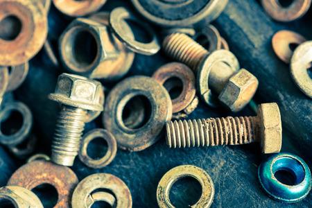 tornillos: tornillos y similares Foto de archivo