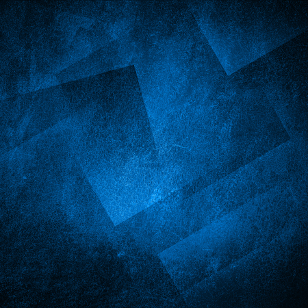 Grunge blue wall background or texture Standard-Bild