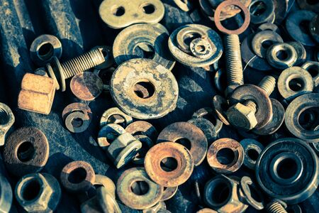 used items: screws & bolts