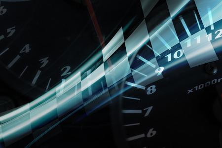 Racing Background Stockfoto