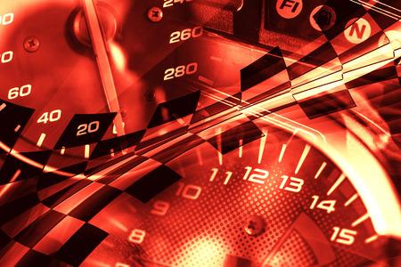 velocimetro: Racing de fondo