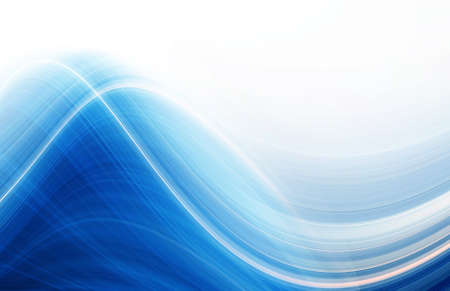 blue waves: Abstract wave design