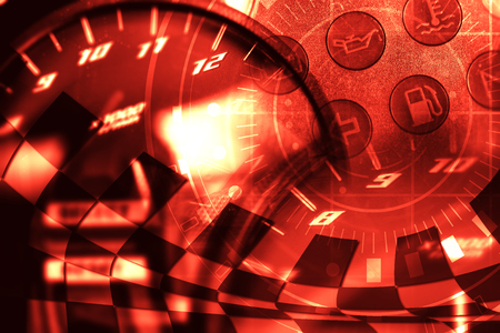 Racing Background Standard-Bild