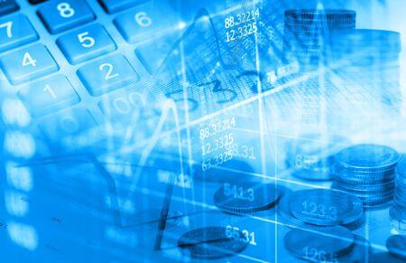 stock market display abstract Stockfoto