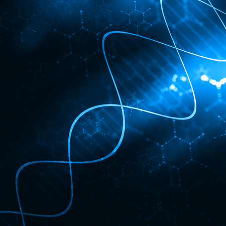 telecomm: Blue Medical Science Futuristic Technology Abstract Background
