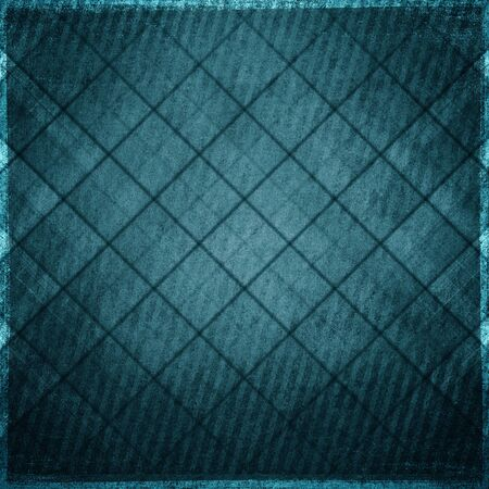 grunge frame: Grunge blue wall background or texture Stock Photo