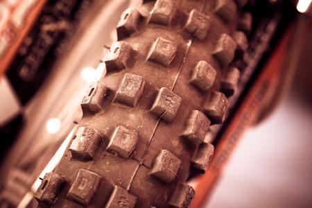 supercross: wheel motocross bike Stock Photo