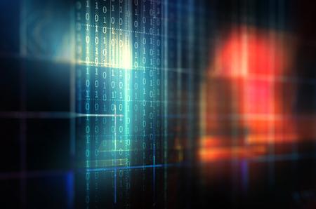 binary code Фото со стока