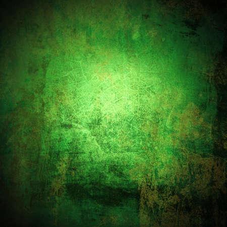 dark ages: Grunge green background Stock Photo