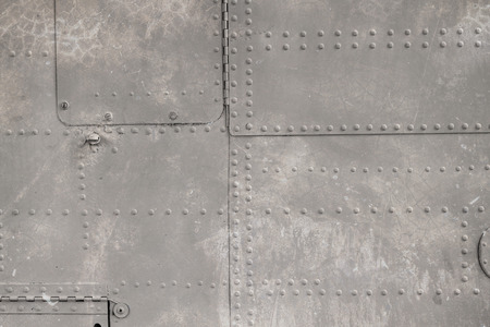 creative force: riveted metal from aircraft