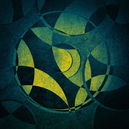circles: grunge background, abstract circles pattern