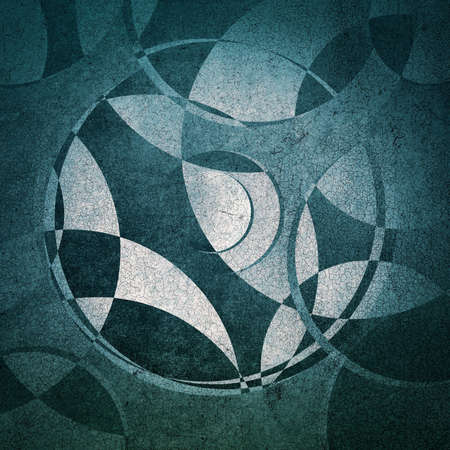 circles: grunge background, abstract circles pattern