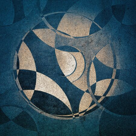abstract circles: grunge background, abstract circles pattern