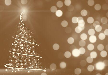 Abstracto árbol de Navidad  Foto de archivo - 53909079
